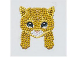 Craft Buddy Crystal Art Motiv Sticker Bastelset Set Katze