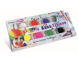 Fries 30486 Aqua Tableau Karneval Inhalt 8 Tiegel