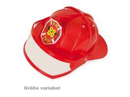 Fries 38620 Feuerwehrhelm mit Visier Groesse variabel 47 57 cm