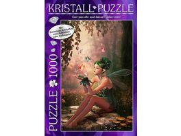 M I C Swarovski Kristall Puzzle Fairy Forrest 1000 Teile