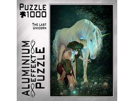 M I C Aluminium Puzzle The last Unicorn 1000 Teile