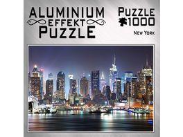 M I C Aluminium Puzzle New York 1000 Teile
