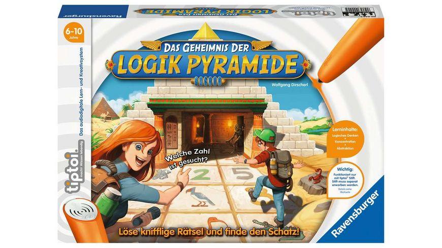Ravensburger tiptoi Das Geheimnis der Logik Pyramide