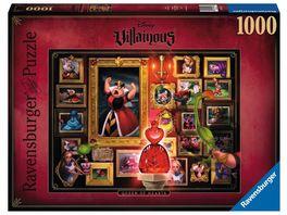 Ravensburger Puzzle Villainous Queen of Hearts 1000 Teile