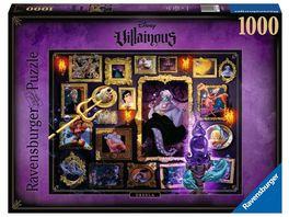 Ravensburger Puzzle Villainous Ursula 1000 Teile