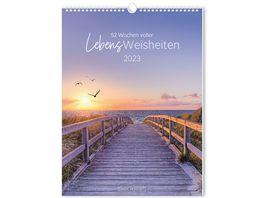 GRAFiK WERKSTATT Wochenkalender 2022 LebensWeisheiten