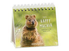 GRAFiK WERKSTATT Tischkalender 2021 Happymacher