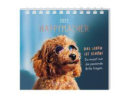 GRAFiK WERKSTATT Mini Kalender 2022 Happymacher