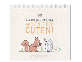 GRAFiK WERKSTATT Mini Kalender 2022 Die schoensten Dinge passieren unerwartet