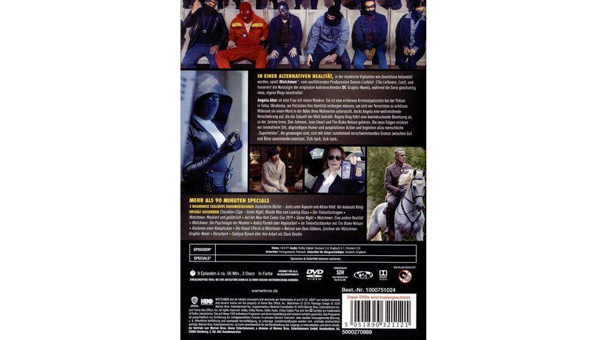 Watchmen 1 Staffel 3 DVDs