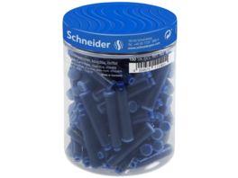 Schneider Tintenpatrone Standard fuer Fuellhalter 100er Dose