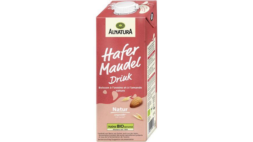 Alnatura Hafer Mandel Drink ungesüßt 1L