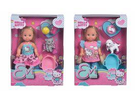 Simba Evi Love Hello Kitty Evi LOVE Animal 1 Stueck sortiert