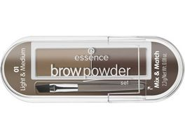 essence brow powder set