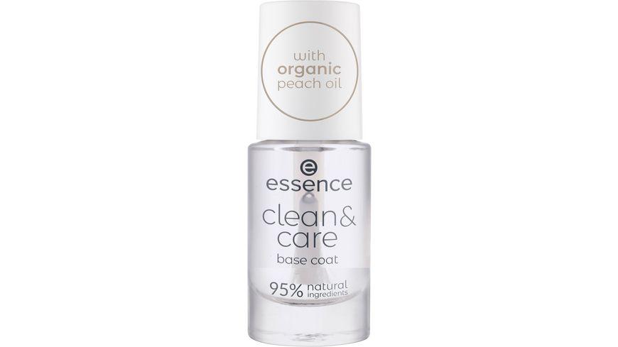 essence clean care base coat