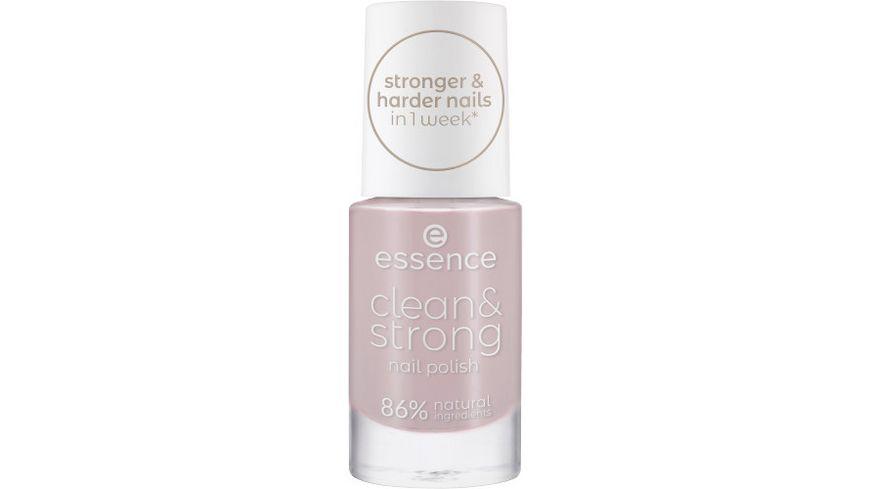 essence clean & strong nail polish 04 Brisk Dawn