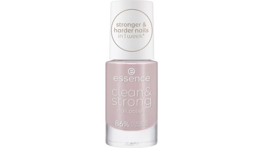 essence clean strong nail polish