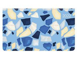 ALPHA EDITION Taschenkalender Ladytimer Pad Flowers 2021 15 6x9 cm