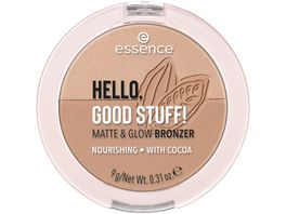 essence HELLO GOOD STUFF MATTE GLOW BRONZE