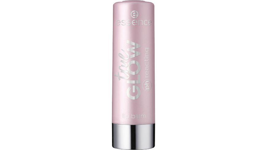essence true GLOW ph reacting lip balm