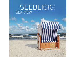 Alpha Edition Bildkalender Seeblick 2021 30x30cm