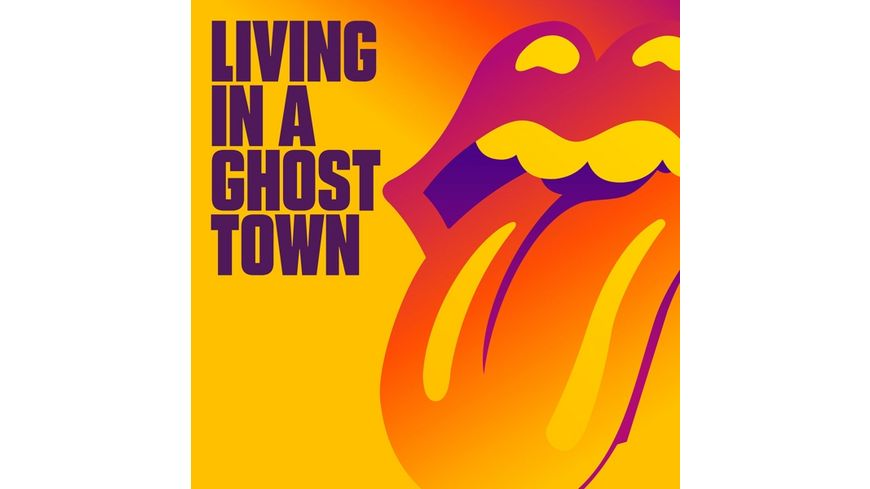 LIVING IN A GHOST TOWN 1TRACK CD SINGLE