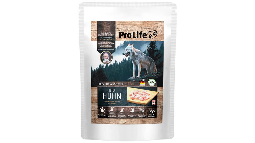 Pro Life Moessner Premium Nassfutter Huhn schmackhafte Terrine