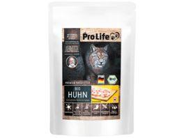 Pro Life Moessner Premium Nassfutter Bio Huhn schmackhafte Terrine