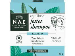 N A E festes Shampoo equilibrio klaerendes shampoo