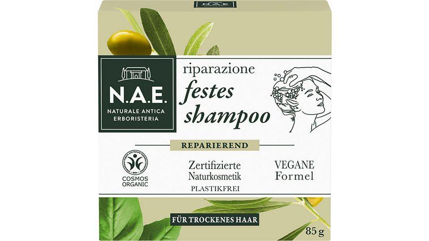 N A E festes Shampoo riparazione reparierendes shampoo
