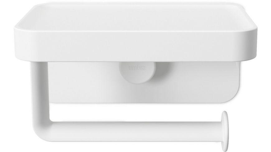 umbra Flex Sure-Lock Toilettenpapierhalter mit  Ablage