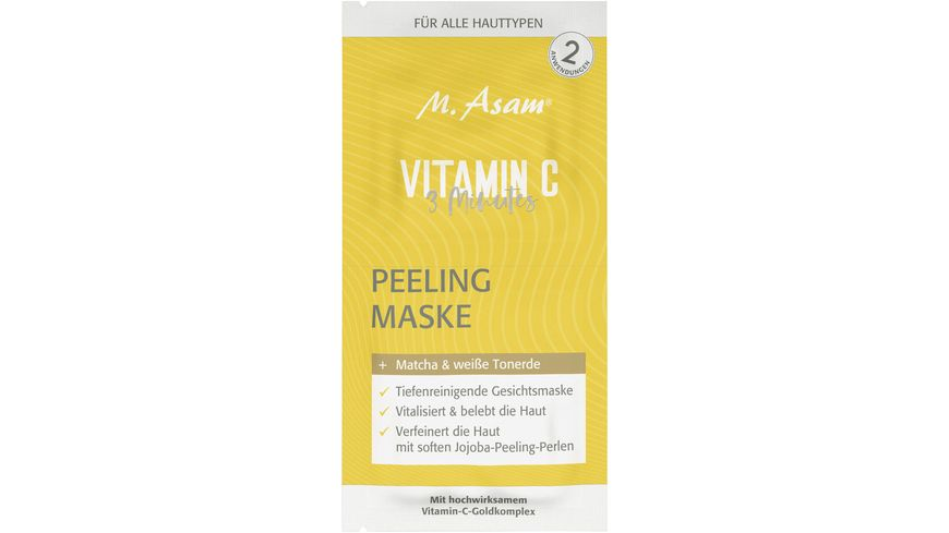 M Asam Vitamin C 3 Minutes Peelingmaske