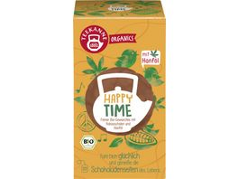 Teekanne Feiner Bio Gewuerztee mit Kakaoschalen und Hanfoel