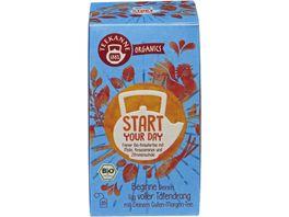 TEEKANNE BIO Organics Start Your Day 20er