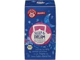 TEEKANNE BIO Organics Sleep Dream 20er