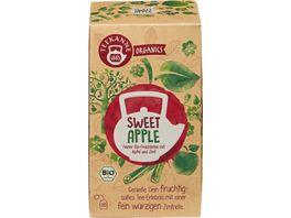 Teekanne Feiner Bio Fruechtetee mit Apfel und Zimt