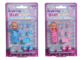 Simba Steffi Love New Born Baby 1 Stueck sortiert