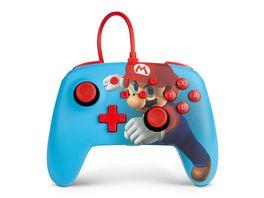 WIRED CONTROLLER POWER A MARIO PUNCH SWITCH