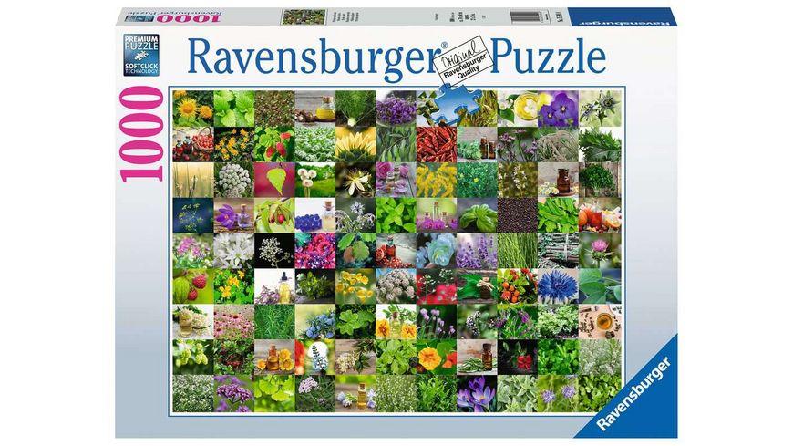 Ravensburger Puzzle - 99 Kräuter und Gewürze - 1000 Teile