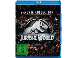 Jurassic World 5 Movie Collection 5 BRs