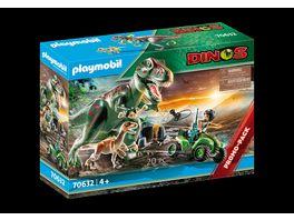 PLAYMOBIL 70632 Dinos T Rex Angriff