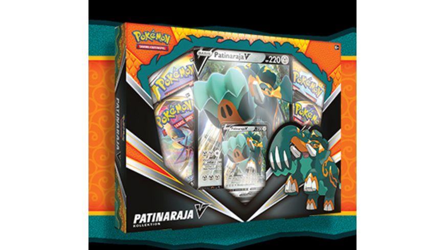 Pokemon Sammelkartenspiel Kollektion Patinaraja V