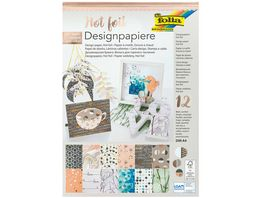 Folia Designpapierblock A4 Hotfoil II