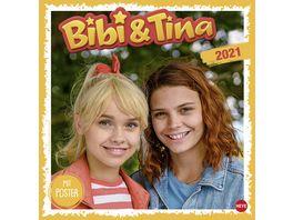 HEYE Bildkalender Bibi und Tina Die Serie 30x29 5cm