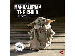HEYE Bildkalender The Mandalorian 2021 30x29 5cm