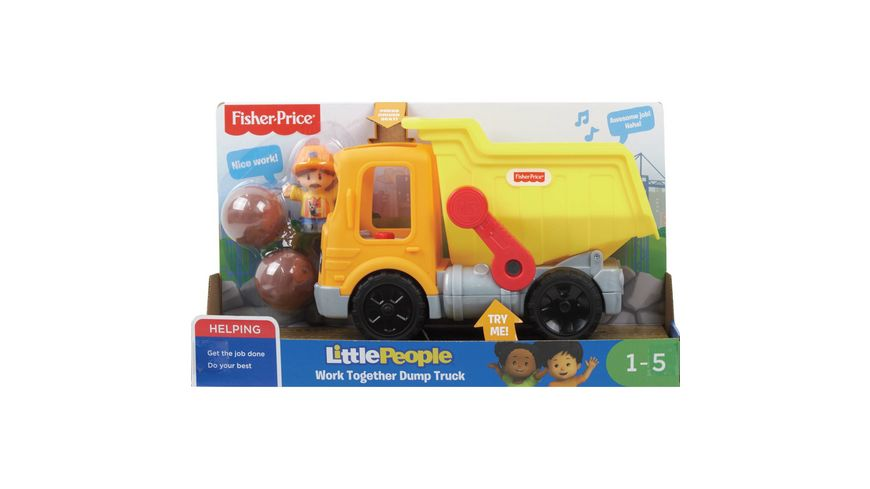 Fisher Price Little People Kipplaster D
