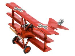 Metal Earth 502473 Tri Wing Fokker Roter Baron MMS210