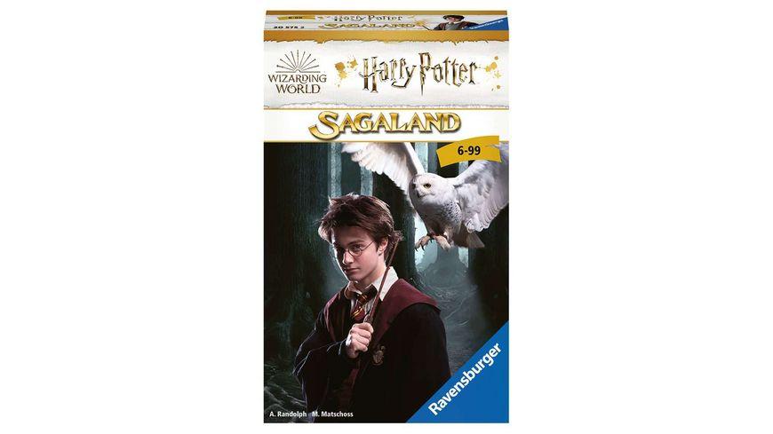 Ravensburger Spiel Sagaland von Ravensburger in der Welt von Harry Potter ein Spieleklassiker im handlichen Mitbringspiel Format