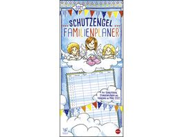 HEYE Familienplaner Schutzengel 2021 45x21cm