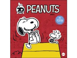 HEYE Bildkalender Peanuts 2021 30x29 5cm